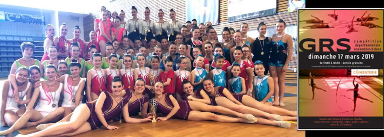 Départemental équipes 2019 - Les médaillées de Landerneau