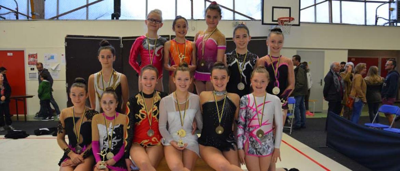 District 2016 à Landerneau - les médaillées