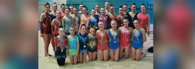 Landerneau GR - les médaillées du Régional Individuel 2018