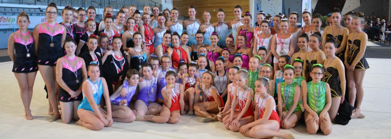 Les médaillées du régional équipes 2017 à Landerneau